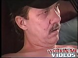 Mature Dude Ugly Joe Pleasures Himself Until He Bursts Cum