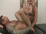 Hairy Muscle Massaged