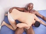 Muscled Black Fucks Young White