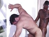 Interracial Flip Fuck