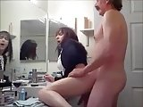 Crossdresser Fucked In Toilet