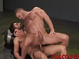Landon Conrad Mounting Adam From Above And Behind