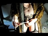Transsexual Shemale Sounding Urethral Cock Pantyhose Nylon