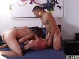 Three Hot Military Studs Play