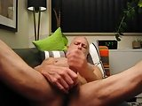 Silver Daddy Bear Talking Dirty Cumming