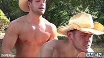 Cowboys Brenner Bolton And Luke Adams Gay Fucke...